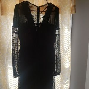 Beautiful black dress.